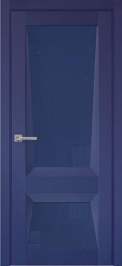 Дверь межкомнатная Перфекто 101 Синий бархат