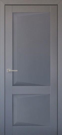 Дверь межкомнатная Перфекто 102 Серый бархат