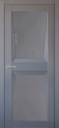 Дверь межкомнатная Перфекто 103 Серый бархат