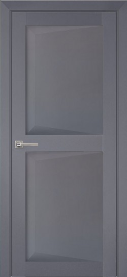 Дверь межкомнатная Перфекто 104 Серый бархат