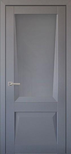 Дверь межкомнатная Перфекто 106 Серый бархат