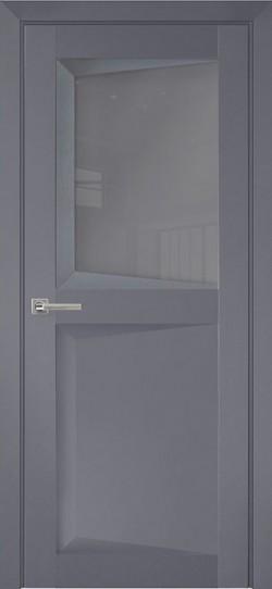 Дверь межкомнатная Перфекто 109 Серый бархат