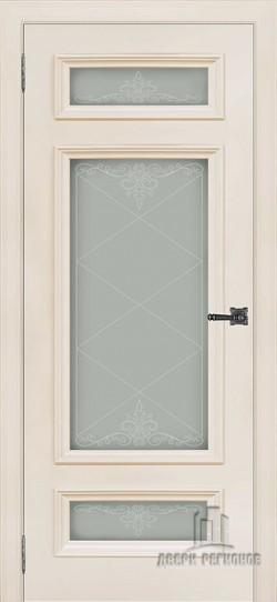 Дверь межкомнатная Неаполь 3 Слоновая кость (Ral 9001)