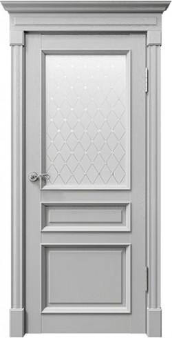 Дверь межкомнатная Rimini 80001 Светло-серый Серена
