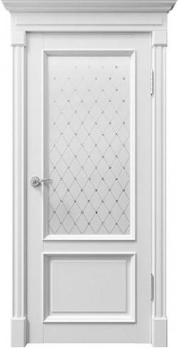 Дверь межкомнатная Rimini 80002 Белый Серена