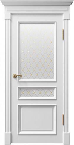 Дверь межкомнатная Rimini 80003 Белый Серена