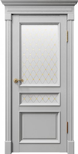 Дверь межкомнатная Rimini 80003 Светло-серый Серена