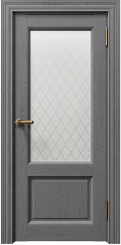 Дверь межкомнатная Sorrento 80010 блистер золото Атрацит Soft touch