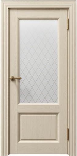 Дверь межкомнатная Sorrento 80010 блистер золото Кремовый Soft touch