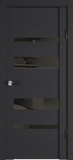 Дверь межкомнатная UniLine 30013 Дуб шоколадный