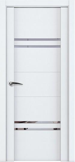 Дверь межкомнатная UniLine 30015 Белый велюр