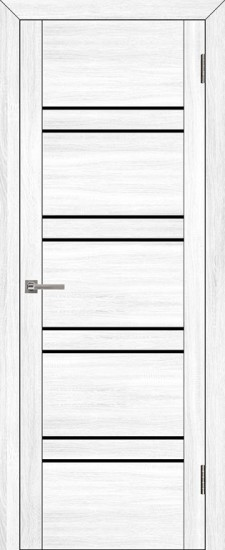 Дверь межкомнатная UniLine 30026 Белый велюр
