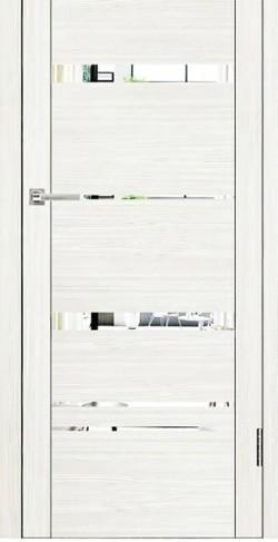 Дверь межкомнатная UniLine 30027 Белый велюр