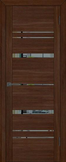 Дверь межкомнатная UniLine 30027 Орех вельвет