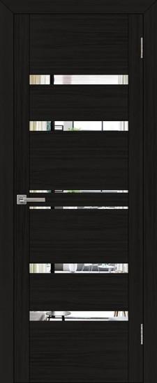 Дверь межкомнатная UniLine 30030 Зеркало Шоко велюр
