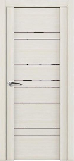 Дверь межкомнатная UniLine 30032 Зеркало Капучино велюр
