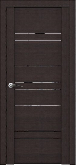 Дверь межкомнатная UniLine 30032 Зеркало Шоко велюр