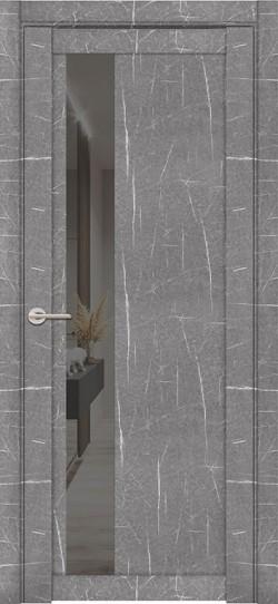 Дверь межкомнатная UniLine Mramor 30004/1 Marable Soft Touch Торос Серый