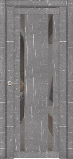 Дверь межкомнатная UniLine Mramor 30006/1 Marable Soft Touch Торос Серый