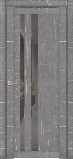 Дверь межкомнатная UniLine Mramor 30008/1 Marable Soft Touch Торос Серый