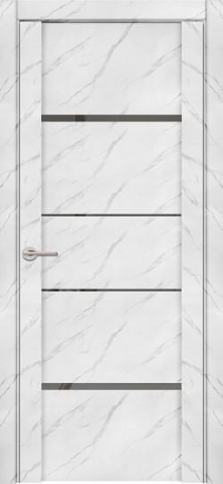 Дверь межкомнатная UniLine Mramor 30039/1 Marable Soft Touch Монте Белый