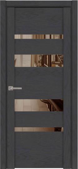 Дверь межкомнатная UniLine 30013 SoftTouch Атрацит Soft touch