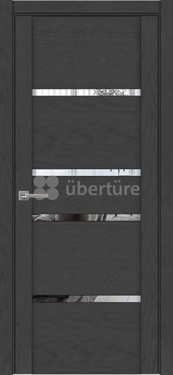 Дверь межкомнатная UniLine 30021 SoftTouch Атрацит Soft touch