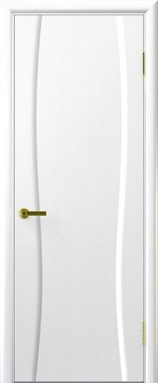 Дверь межкомнатная Диадема 1 Ясень жемчуг