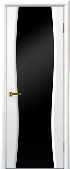 Дверь межкомнатная Диадема 2 Ясень жемчуг