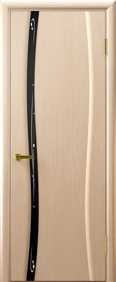 Дверь межкомнатная Диамант 1 Беленый дуб