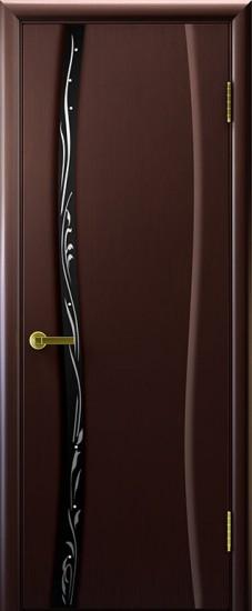 Дверь межкомнатная Диамант 1 Венге