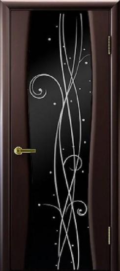 Дверь межкомнатная Диамант 2 Венге
