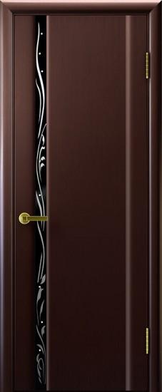 Дверь межкомнатная Эксклюзив 1 Венге