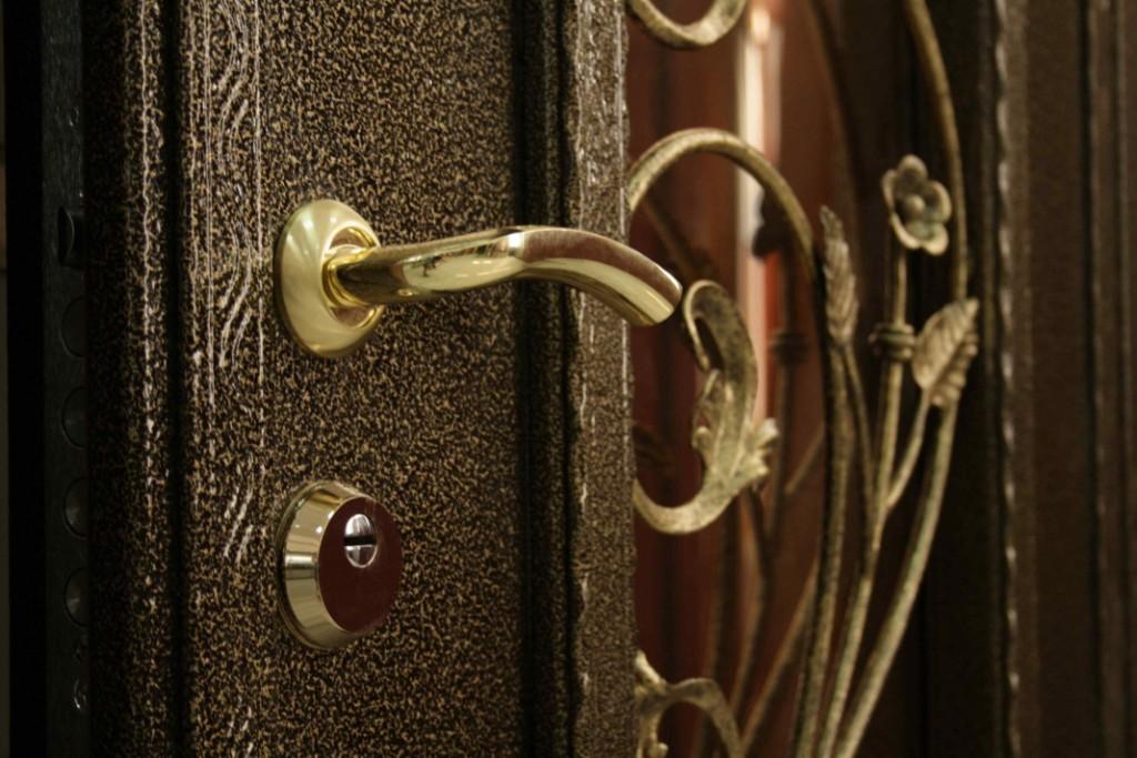 выбор металлической двери в дом
